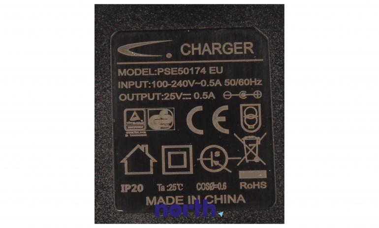Ładowarka 25V 0.5A (PSE50174EU) do odkurzacza AEG,4