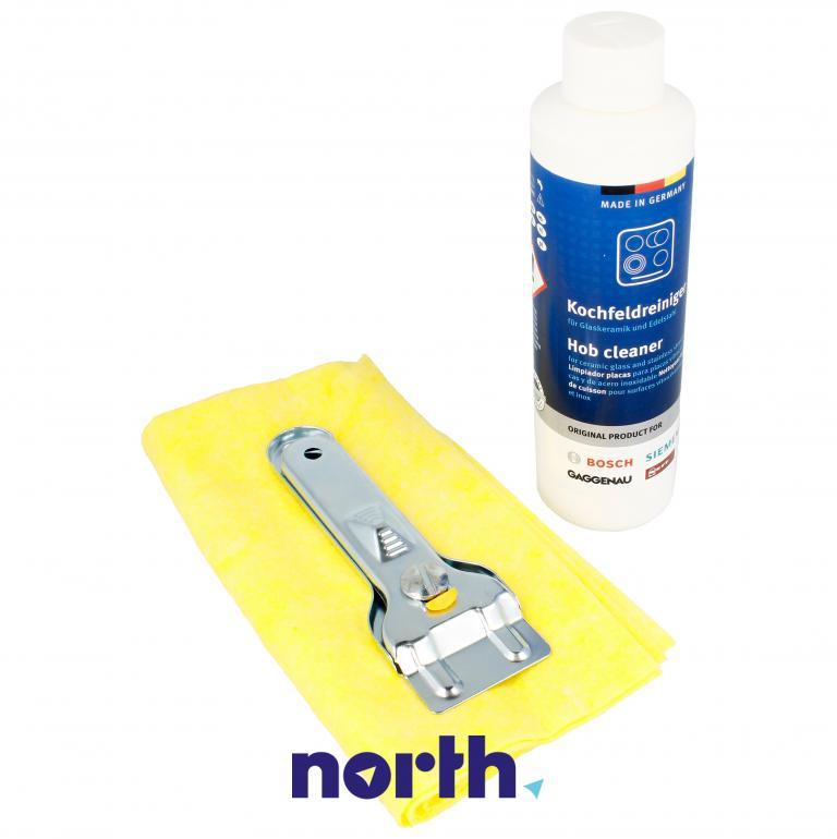 Zestaw do czyszczenia do płyty ceramicznej Bosch 00311900,4