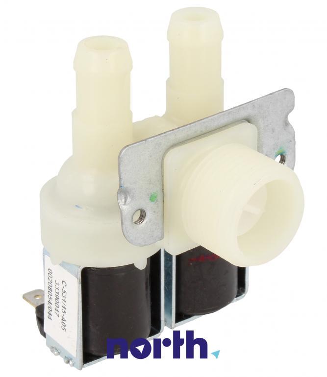 Elektrozawór podwójny do pralki Zanker,0