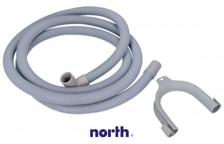 Wąż odpływowy 19x21mm 2.5m do pralki TP REFLEX,0