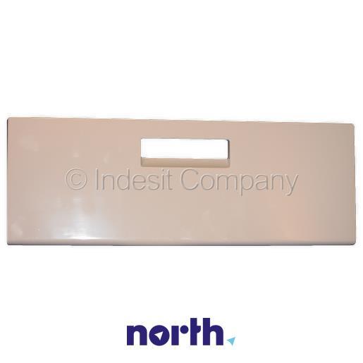 Front szuflady dolnej do komory zamrażarki do lodówki Indesit 482000026043,0