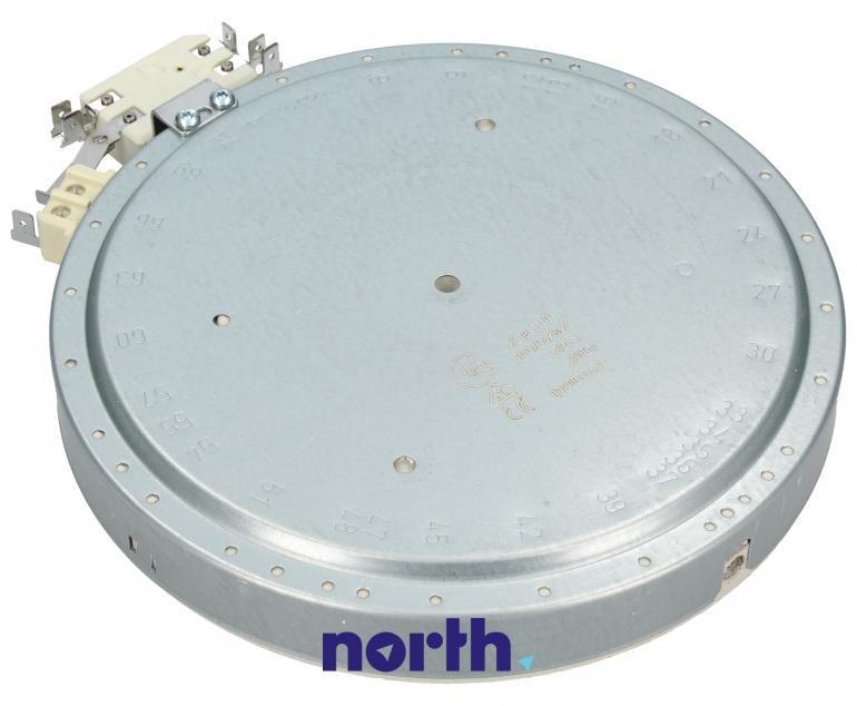 Średnie pole grzejne 2000W 180mm do płyty grzewczej Bosch 00644726,1