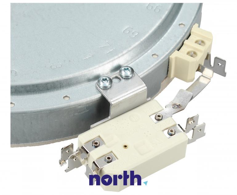Średnie pole grzejne 2000W 180mm do płyty grzewczej Bosch 00644726,2