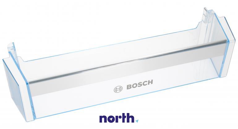 Dolna półka na drzwi chłodziarki do lodówki Bosch 00743239,0