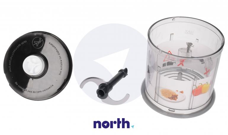 Rozdrabniacz kompletny 750ml do blendera ręcznego Bosch 00627214,1