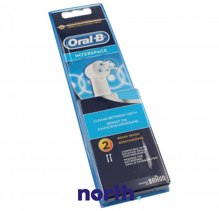 Końcówki Interspace (2szt.) do szczoteczki do zębów Oral-B IP17-2 64711714,2