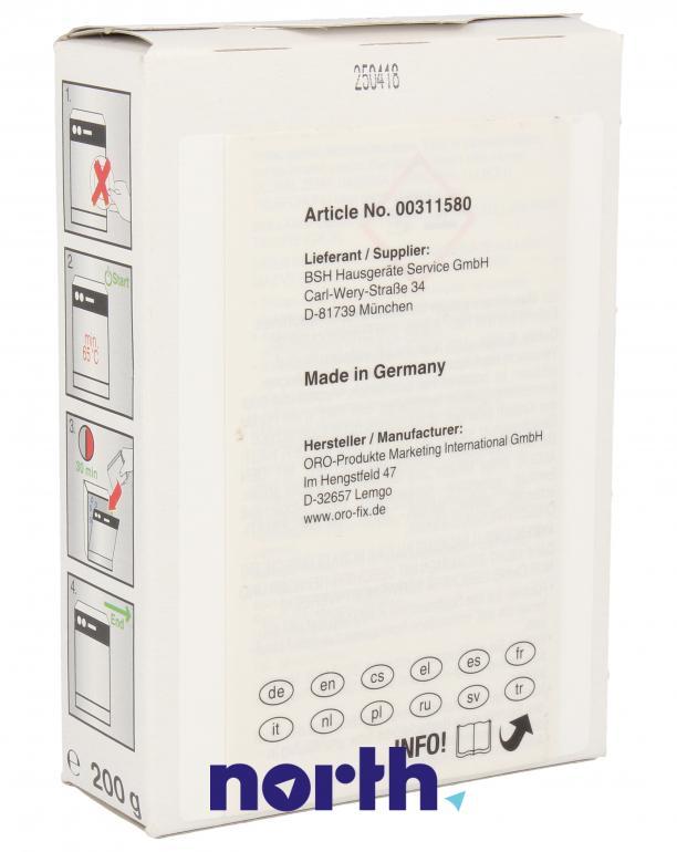Proszek czyszczący do zmywarki Bosch 00311580,1