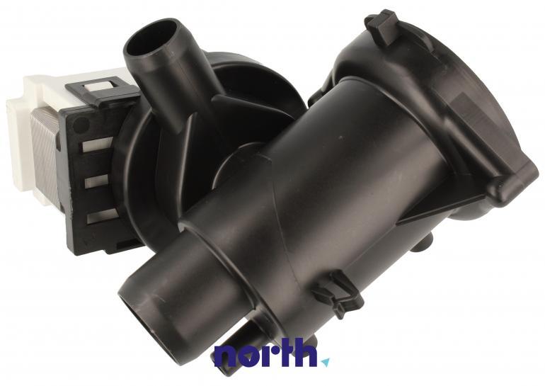 Pompa odpływowa kompletna (silnik + obudowa) 49115 do pralki Daewoo,1