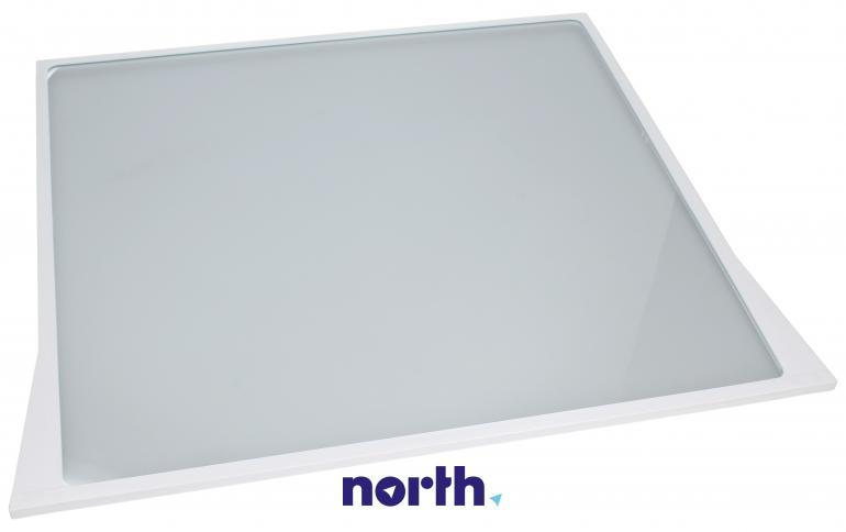 Półka szklana z ramkami do komory chłodziarki do lodówki Bosch 00704421,0