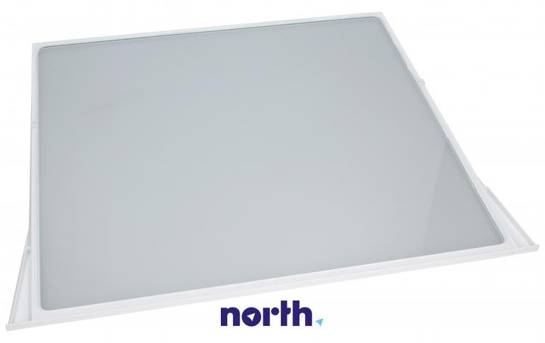 Półka szklana z ramkami do komory chłodziarki do lodówki Bosch 00704421,1