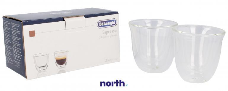 Szklanki termiczne do kawy 60ml Espresso DeLonghi 5513214591,0