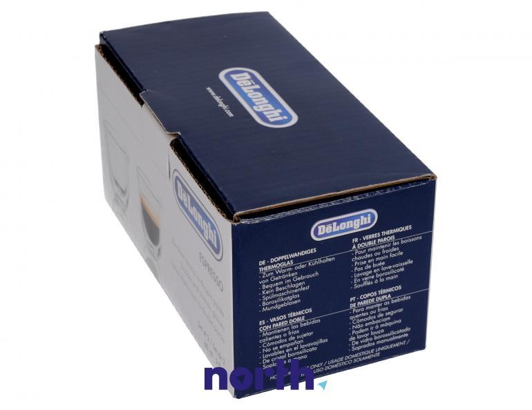 Szklanki termiczne do kawy 60ml Espresso DeLonghi 5513214591,3