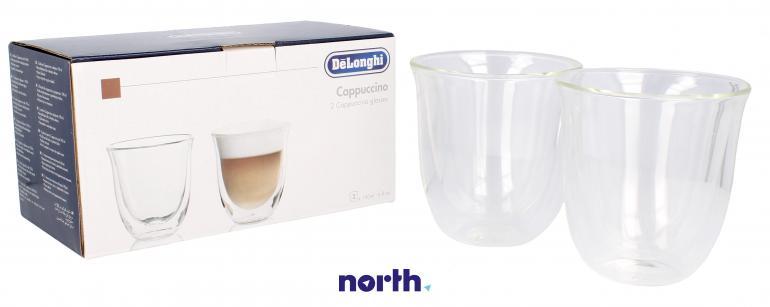 Szklanki termiczne do kawy 190ml Cappuccino DeLonghi 5513214601,0