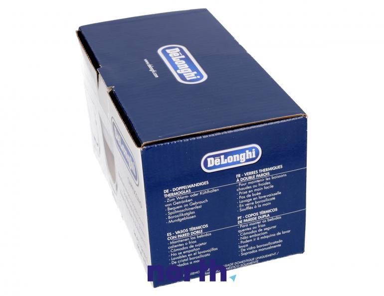 Szklanki termiczne do kawy 190ml Cappuccino DeLonghi 5513214601,3