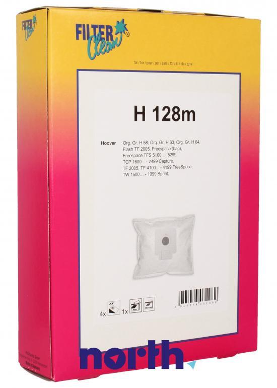 Worki H128m 4szt. do odkurzacza Hoover,0