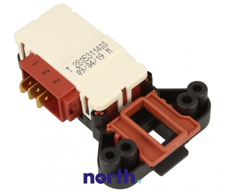 Blokada elektromagnetyczna otwarcia drzwi 2805311400 do pralki Beko 2805311400,5