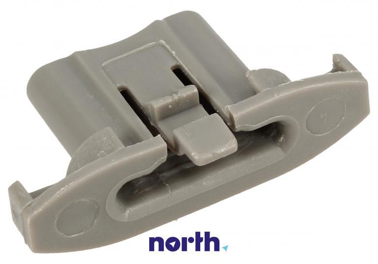 Tylny ogranicznik prowadnicy kosza do zmywarki Whirlpool 482000018742,0