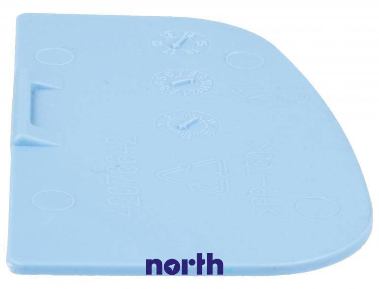 Przegroda szuflady na płyn do prania do pralki Sharp 42076642,3