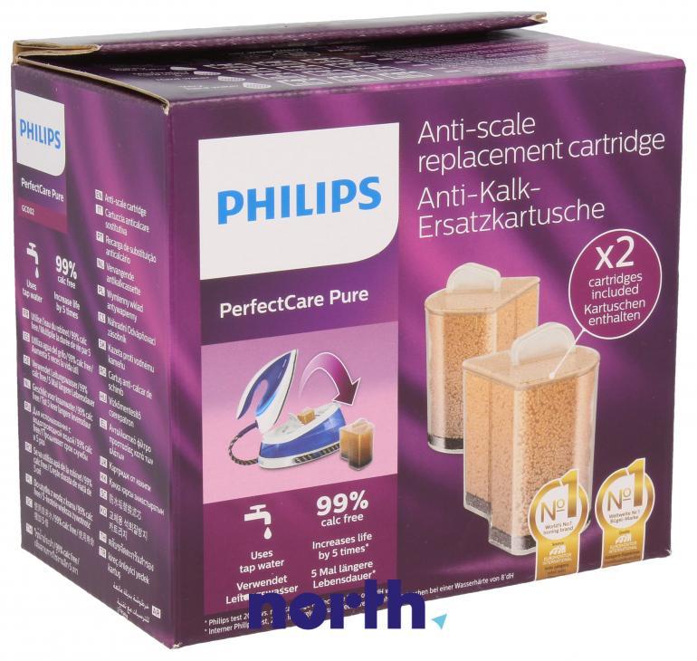 Wkłady antywapienne 2szt. do żelazka Philips GC002/00 423902178460,0
