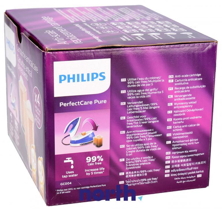 Wkłady antywapienne 4 szt. do żelazka Philips GC004/00,1