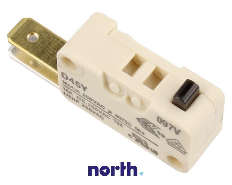 Przełącznik blokady drzwi do zmywarki Beko 1731980300,1
