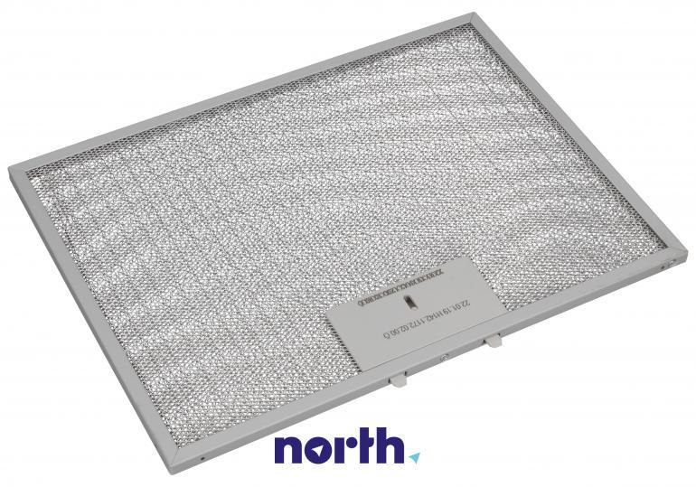 Filtr przeciwtłuszczowy metalowy (aluminiowy) do okapu Amica 1034488,2