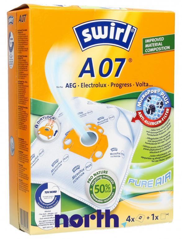 Worki A07 4szt. do odkurzacza AEG,0