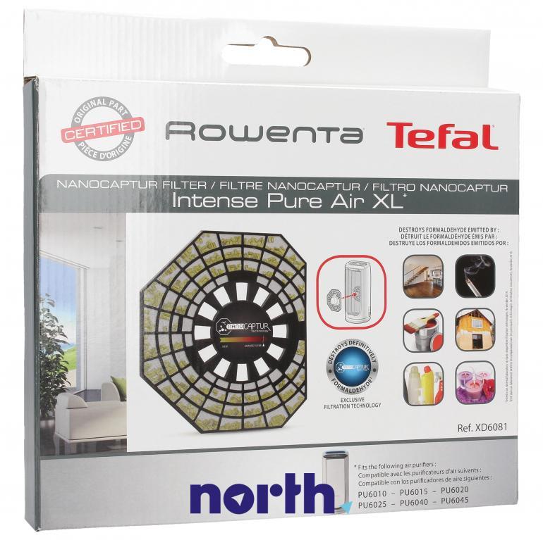 Filtr powietrza do oczyszczacza powietrza Rowenta NanoCaptur XD6081F0,0
