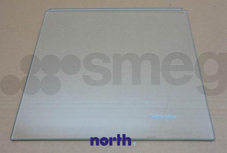 Półka szklana do komory zamrażarki do lodówki Smeg 695651956,0