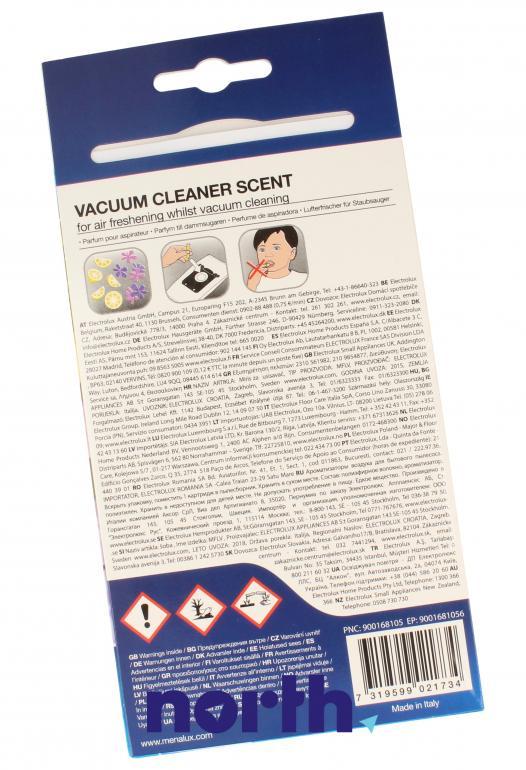 Wkład zapachowy cytryna i werbena 5szt. MFLV do odkurzacza,1
