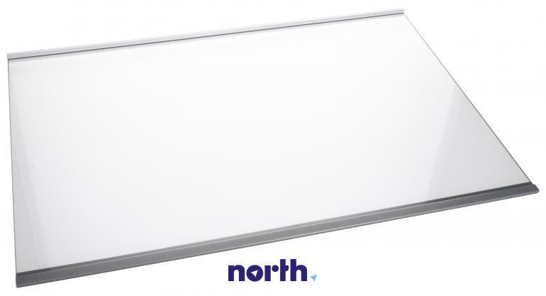 Półka szklana z ramkami do komory chłodziarki do lodówki Whirlpool 481010667591,0