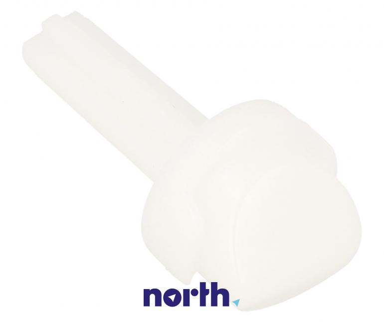 Element plastikowy górnego prawego zawiasu do lodówki Beko 4862700400,0