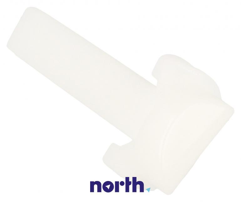 Element plastikowy górnego prawego zawiasu do lodówki Beko 4862700400,2
