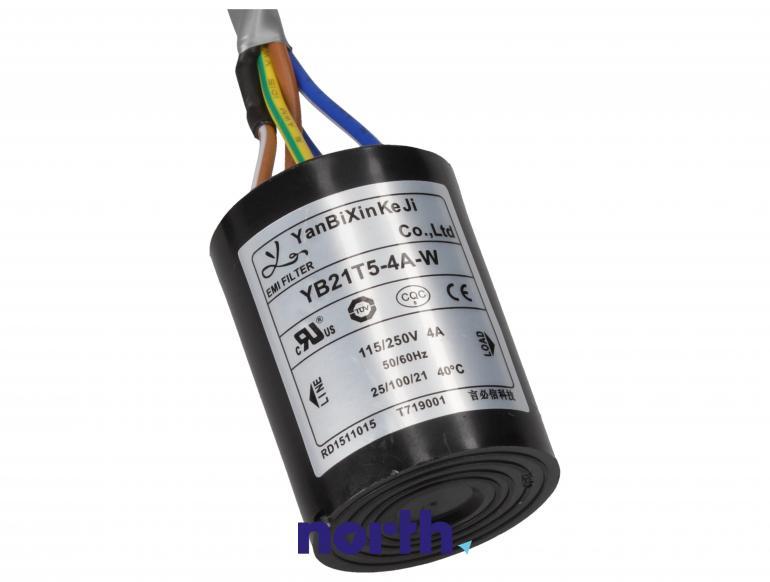 K1649403 kabel zasilający + filtr do lodówki HISENSE,5