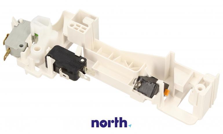 Kompletny zamek drzwiczek do mikrofalówki Samsung DE94-02265E,1
