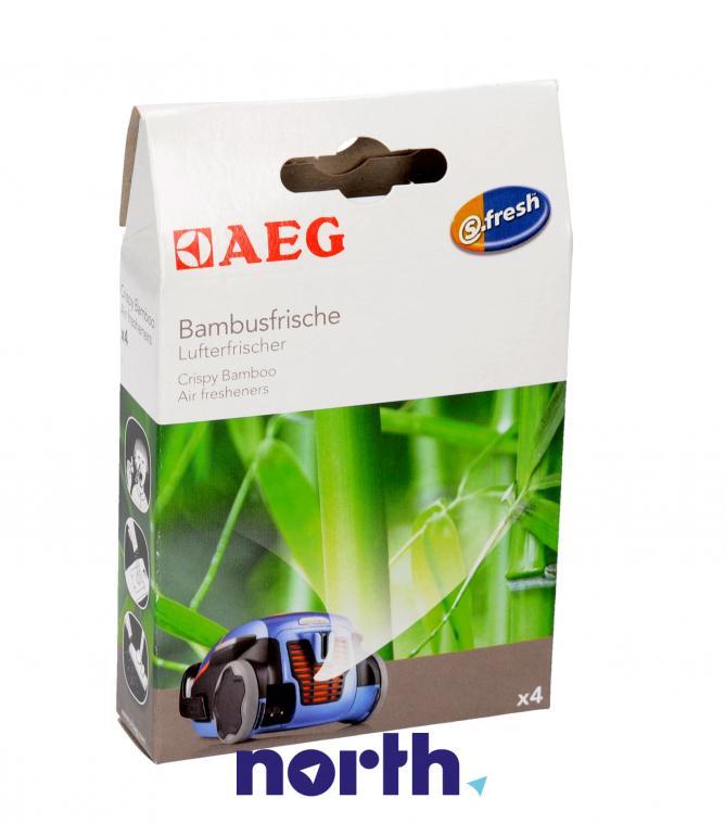 Wkład zapachowy bambusowy 4szt. ASBA4 do odkurzacza,0