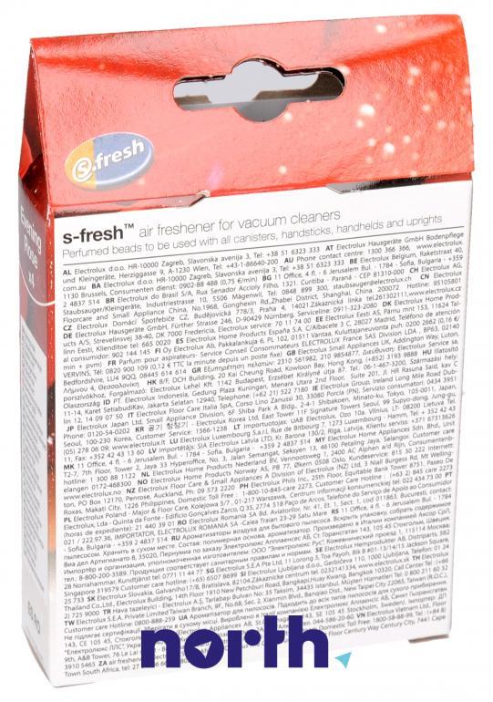 Wkład zapachowy różany 4szt. ESRO4 do odkurzacza,1