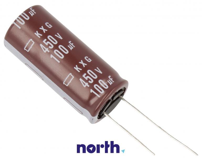 Kondensator elektrolityczny 100uF/450V EKXG451ELL101MM40S,0