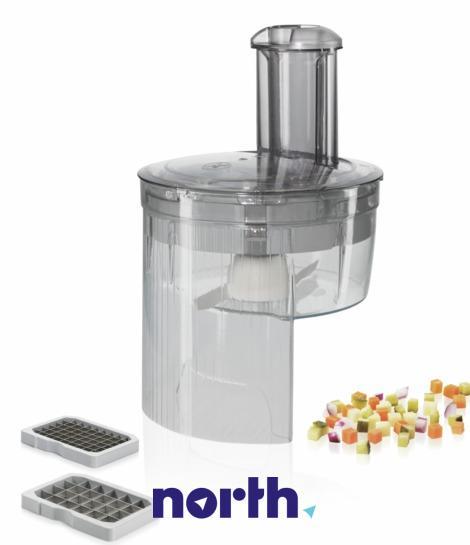 Przystawka do krojenia w kostkę do robota kuchennego Bosch MUZ5CC1 00577340,1