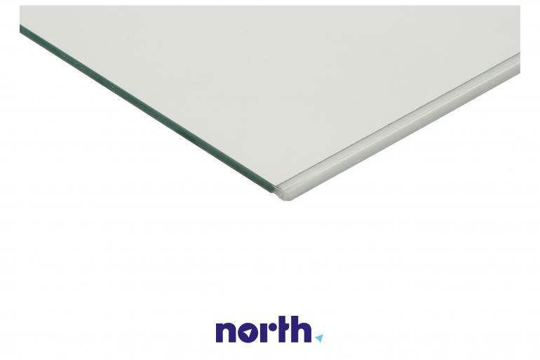 Półka szklana bez ramek do komory chłodziarki do lodówki Indesit 482000089865,1