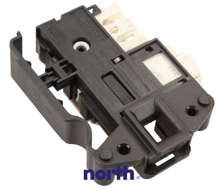 Blokada elektromagnetyczna otwarcia drzwi 482000032280 do pralki Indesit 482000032280,0