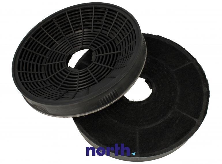 Filtr węglowy okrągły YT971.1000.05 do okapu Amica 16cm 2szt.,1