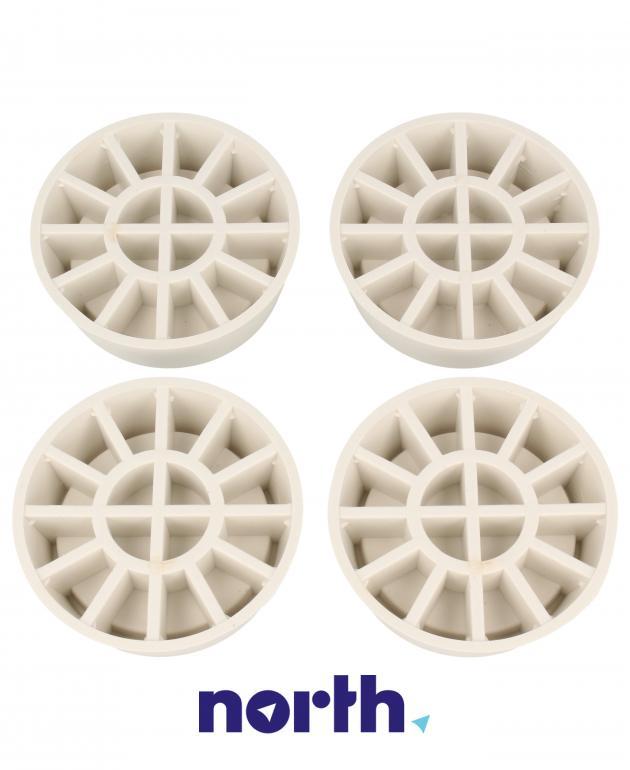 Podkładki antywibracyjne pod stopki do pralki Whirlpool 484000008531,3