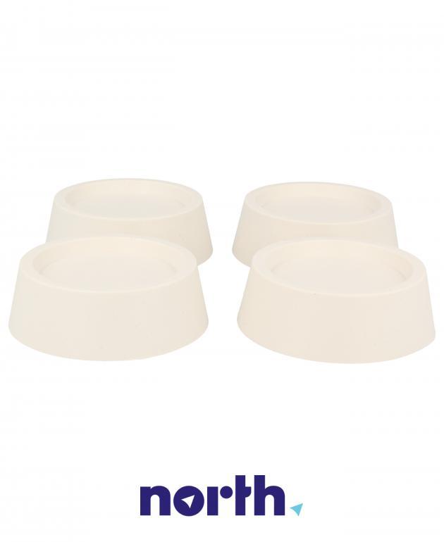 Podkładki antywibracyjne pod stopki do pralki Whirlpool 484000008531,4