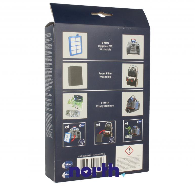 (6w1) Filtry + wkłady zapachowe USK11 do odkurzacza Electrolux,1
