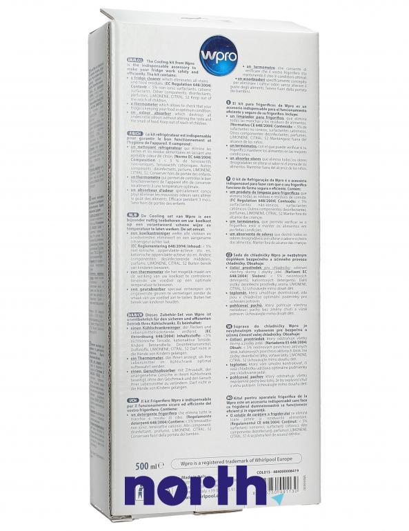 Zestaw do pielęgnacji lodówki Bauknecht COL015 484000008419,1