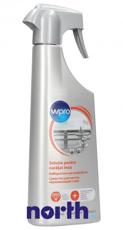 Środek czyszczący do stali nierdzewnej WHIRLPOOL/INDESIT SSC212 484000008423 500ml,0