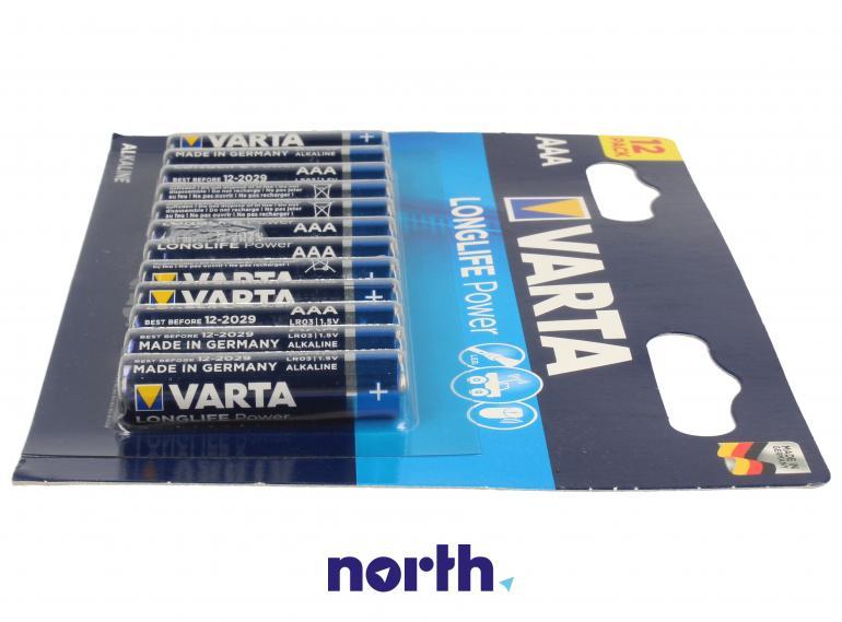 Bateria alkaliczna AAA VARTA (12szt.),3
