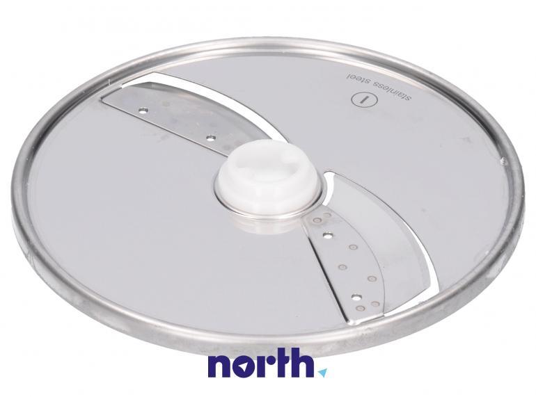 Tarcza dwustronna tnąca na cienkie i grube plastry do robota kuchennego Zelmer 00798164,0
