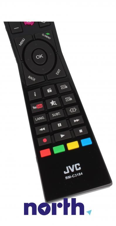 Pilot oryginalny do telewizora 23366393 JVC,2